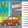 Audi a2 in the city