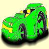 Big wheel car coloring
