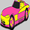 Fabulous pink car coloring A Free Customize Game