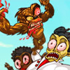Brainless Monkey Rampage A Free Action Game