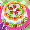 Every time my mom asking me what I would like to eat, I always tell her a delicious fruit cake. Here you have the chance to prepare and cook a gorgeous cake. Have fun with this game.