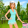 Lily at the sport dress up A Free Dress-Up Game
