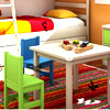 Kids Colorful Bedroom Hidden Alphabets