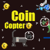 Coin Cat Copter A Free Action Game