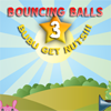 Bouncing Balls is back! Somebody stole all the stars from the sky! Hit all the pink circles to release the stars and bring back the harmony in the skies!