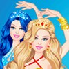 Barbie Mermaid A Free Dress-Up Game