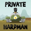 Play as Private Hardman and protect your base from infiltrators. Collect ammos which fall from the sky.