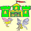 Two cute fairy coloring A Free Customize Game