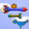 Pumpkin Riding Missile A Free Action Game