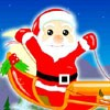 Santa Claus Flying A Free Action Game