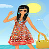 Gaby vacation dress up A Free Dress-Up Game