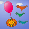 Pumpkin With Balloon A Free Action Game