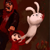 Bunnies and Zombies A Free Action Game