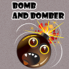 Clean your city from bombs. Bombs can only be removed in type of groups of two or more.  If you leave one bomb from a bomb type, you will fail automatically. Have fun.
