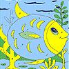 Fat fish coloring Game.