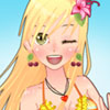 Anime bikini dress up game