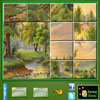 Puzzle Craze Green Nature
