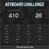 Keyboard Challenge A Free Action Game