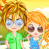Couple Love In Summer A Free Dress-Up Game