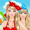 Barbie at the Beach A Free Dress-Up Game