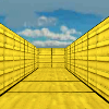 Yellow Metal Maze 3D A Free Adventure Game