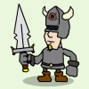 ...so help me to fulfill my destiny! A knight-life management game with four endings.