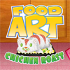 Food Art Chicken Roast
