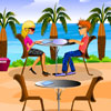 Beach Restaurant A Free Dress-Up Game