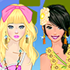 bff in the beach dress up game A Free Dress-Up Game