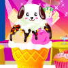 Cute Animal Ice Cream A Free Dress-Up Game