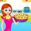 Blue Berry Pie Baking