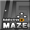 Maze game very addictive and hard to finish, test your accuracy and speed to try to win in this difficult game.