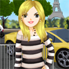 In Paris Streets A Free Dress-Up Game