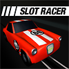 Try to beat 60 second distance record in Slot Car Racing.  Game in entry to Mochi Medias june contest.