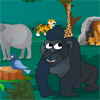 Gorillas In The Jungle A Free Action Game