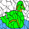 Alone goose coloring A Free Customize Game