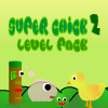 Super Chick 2 is adventure games, the story begin from a chicken which have big body, his name is Bobs, Bobs want to safe his friends from many animal. cause his friends really naught, and since Bobs was born, his brother never play with Bobs, just because Bobs have big body, so Bobs just alone since he was born.  And Bobs always trying to be better to his brother, in this games, you should safe the chick from animal. and you also try to get the fruit in order to increase your score.