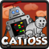 Robot and cat are on their run to escape from the burning lava, that might brake their friendship! Toss the cat, to collect crystals and speed up the robot so lava can`t hurt you! Watch out on obstacles, they might slow you down, and even kill your cat! Earn various achievements as you go for the highest score!