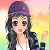 Sportive girl dress up Game.