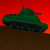 The Tanks are coming!  Destroy as many as you can and collect the special weapons.  How long can you last?