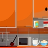 Kitchen room escape In this escape game, you are locked in Kitchen room . Try to escape from the room by finding items. Use your bestest escape skills. Good luck and have a fun!
