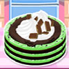 Mint Chocolate Chip Ice Cream Cake A Free Customize Game