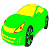 Class bright car coloring Game.