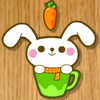 rabbit eats carrot A Free Action Game