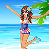 Nelly at the sea dress up A Free Dress-Up Game