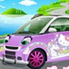 Hello Kitty Car A Free Customize Game
