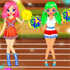 Olympics Cheerleaders A Free Dress-Up Game