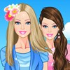 Summertime Barbie A Free Dress-Up Game