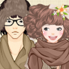 Dress up the cute mori couple with forest themed clothes and accessories.