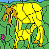 Play Goat and cub coloring